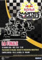 [MD1374] CPM - RED BULL MASTER OF KART - TORO ROSSO - SPARCO - Non Viaggiata - Motorsport
