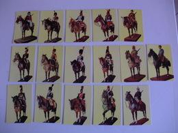 Military Uniforms And Horses Portugal Portuguese Complet Set Of 16 Pocket Calendars 1984 - Calendars