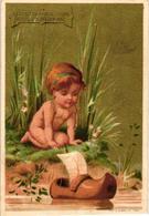 0028 Liebig S 28 Set Of  6 Chromo Litho Cards CHERUBS, AMOURS, Baby Babies Testu Et Massin C1873 Rare Complet VG - Liebig