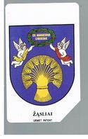 LITUANIA (LITHUANIA) -  1996 ZASLIAI, COAT OF ARMS              - USED - RIF. 10630 - Lituania