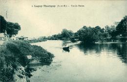 LAGNY-THORIGNY Vue De La Marne - Lagny Sur Marne