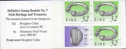PIA - IRL - 1990 - Patrimonio E Tesori Irlandesi - Libretto  - (Yv C 728a - II) - Libretti