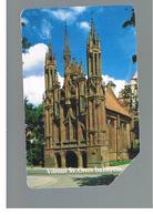 LITUANIA (LITHUANIA) -  1995 VILNIUS ST. ANNA CHURCH   - USED - RIF. 10645 - Lituania