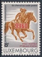 Luxemburg Luxembourg 1983 Mi 1078 YT 1028 ** Despatch Rider, Postcode / Postreiter, Postleitzahl- Weltkommunikationsjahr - Post
