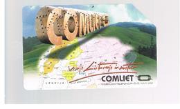 LITUANIA (LITHUANIA) -  1997 COMLIET, MAP   - USED - RIF. 10659 - Lituania