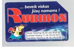 LITUANIA (LITHUANIA) -  1997 RUBIKON  - USED - RIF. 10661 - Lituania