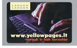 LITUANIA (LITHUANIA) -  1998  YELLOW PAGES  - USED - RIF. 10664 - Lituania