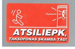 LITUANIA (LITHUANIA) -  1998  ANSWER  - USED - RIF. 10669 - Lituania