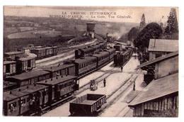 1027 - La Creuse Pittoresque - Busseau D'Ahun  - La Gare Vue Générale - Imp. Ph. F. Alery-Ruelle à Paris - - France