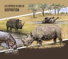 Niger 2018, Animals In Danger, Rhino, BF - Rhinozerosse