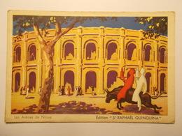 Carte Postale - Publicité - ST RAPHAEL Quinquina - Arénes De Nimes (2225) - Publicidad