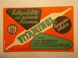 Carte Postale - Publicité - Vitaminol - Laboratoires BYLA (2229) - Reclame