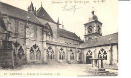 (88) Vosges - CPA - Saint Die - Le Cloître Et La Cathedrale - Saint Die