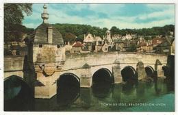 Town Bridge, Bradford-on-Avon - Angleterre