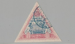 Cote Des Somalis N° 19 Oblitéré Premier Signé Octave Roumet TTB - Costa Francese Dei Somali (1894-1967)
