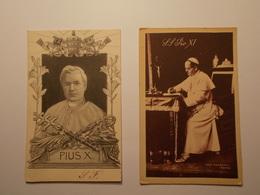 Carte Postale - Pius X & Pius XI  (2238) - Papes