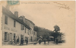 H110 - 01 - LES GRANGES DE MONTAGNIEU - Ain - L'Hôtel Charriot - La Place Et Montagnieu - France