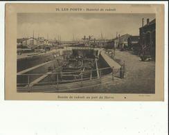 Transports  Bateaux  _Materiel De Radoub _Bassin De Radoub Au Port Du HAVRE.. G  F  24 X 14 - Boats