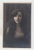 CARTE PHOTO A. CRISTEL à LIEGE / PORTRAIT JEUNE FEMME - Liège