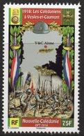 Nouvelle-Calédonie 2018 - Cent 1ere Guerre Mondiale, Troupes Calédoniennes à Vesles Et Caumont  - 1 Val Neuf // Mnh - Nouvelle-Calédonie
