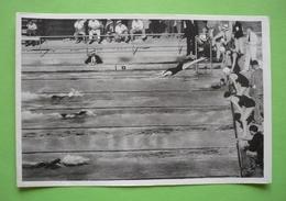 Image 120 X 80 - JEUX OLYMPIQUES 1932 - NATATION - 4 X 100m  -   Voir Détails Au Verso - Natation