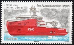 T.A.A.F. // F.S.A.T. 2018 - Bateau L'Astrolabe - 1 Val Neufs // Mnh - Unused Stamps