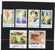 AUA763 SCHWEDEN 1988 Michl 1495/00 Gebraucht / Gestempelt ZÄHNUNG Und STEMPEL SIEHE ABBILDUNG - Schweden