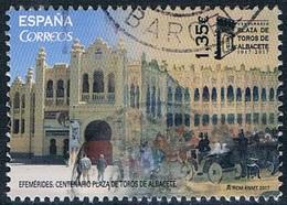 Espagne - Centenaire De La Place De Toros à Albacete 4913 (année 2017) Oblit. - 1931-Today: 2nd Rep - ... Juan Carlos I