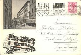 12072615 Perugia Umbria Albergo Baglioni Stadtplan Perugia - Italia