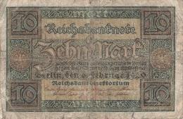 10 Mark Reichsbanknote M 3313027 - [ 2] 1871-1918 : German Empire