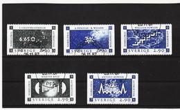 AUA767 SCHWEDEN 1987 Michl 1461/65 Gebraucht / Gestempelt ZÄHNUNG Und STEMPEL SIEHE ABBILDUNG - Schweden