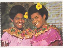 Old Uncirculated Postcard - Ethnics - Fijian Girls - Océanie