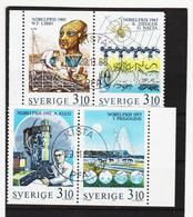 AUA768 SCHWEDEN 1988 Michl 1516/19 Gebraucht / Gestempelt ZÄHNUNG Und STEMPEL SIEHE ABBILDUNG - Schweden