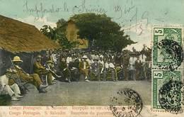 Congo Portugais S Salvador  Réception Du Gouvernement - El Salvador