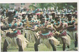 Old Uncirculated Postcard - Ethnics - Fiji - Suva - Spear Dance - Océanie