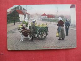 > Belgium  Dog Milk Cart   Has Stamp & Cancel    Ref 2919 - Belgium