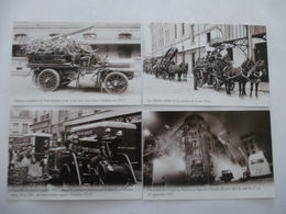 VEHICULES SAPEURS POMPIERS - LOT De 4 CPM Editions Atlas - Détails  Sur Les Scans - Postcards