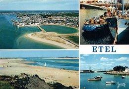 Etel Vue Generale Le Port 1980  CPM Ou CPSM - Etel