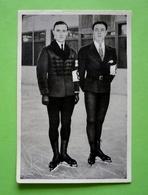 Image 120 X 80 - JEUX OLYMPIQUES 1932 - PATINAGE ARTISTIQUE - Médaillés D'or Et D'argent    - Voir Détails Au Verso - Skating (Figure)
