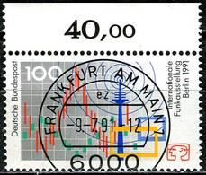 BRD - Mi 1553 Oberrand - Zentrisch OO Gestempelt (C) - 100Pf      Funkausstellung 91 - Usados