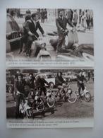 2 ROUES URBAINS : Rumi, Vespa, Cady, Vélovap, Vélo Solex - LOT De 2 CPM Editions Atlas - Détails  Sur Les Scans - Postcards