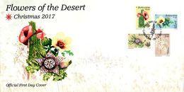 Botswana - 2017 Christmas Desert Flowers FDC - Sukkulenten