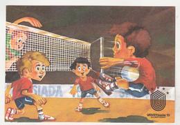 Romania Old Uncirculated Postcard  - Universiada `81 - Universiade 1981 - Volleyball - Volleyball
