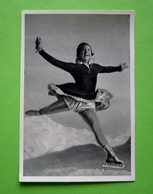 Image 120 X 80 - JEUX OLYMPIQUES 1932 - PATINAGE ARTISTIQUE -  SONJA HENIE Médaillée D'or     - Voir Détails Au Verso - Skating (Figure)