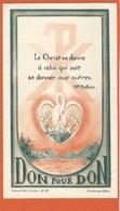 Image Pieuse Holy Card Santini - Illustration - Don Pour Don - Carmel N.D De La Paix N° 19 - CHALONS SUR SAONE - Devotieprenten