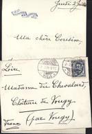 Marguerite Eulalie De Gargan épouse Jacques De La Tour Du Pin Pour Mme De Chevalard Vougy CAD Luxembourg Ville 2 7 08 - 1906 Guillaume IV