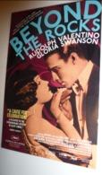 Carte Postale - Beyond The Rocks (film - Cinéma - Affiche) Rudolph Valentino - Gloria Swanson - Affiches Sur Carte