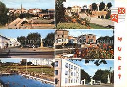 11991379 Muret Haute-Garonne Marechal Niel Clement Ader Square Monument Ader All - France
