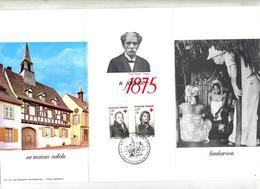 Souvenir Cachet Kaysersberg Anniversaire Schweitzer - Cachets Commémoratifs