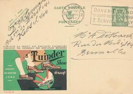 XX914 -- Entier Publibel 261 LEUVEN 1937 - Tuinder Shoe - Entiers Postaux